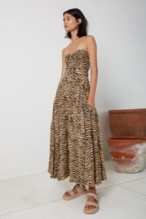 Tiger Halter Dress