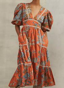 Mabel Puff Sleeve Dress