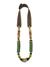 Stacked Classic Necklace - Camo