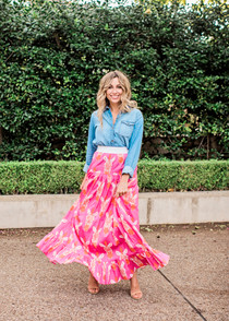 Tiffany Tiered Maxi Skirt