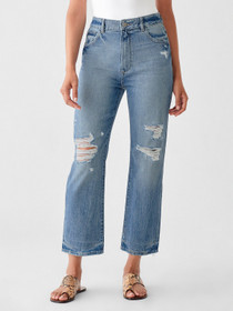 Jerry Vintage Straight Jeans
