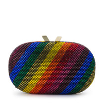 Pot of Gold Rainbow Clutch