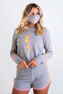 Lightening Sweater Set
