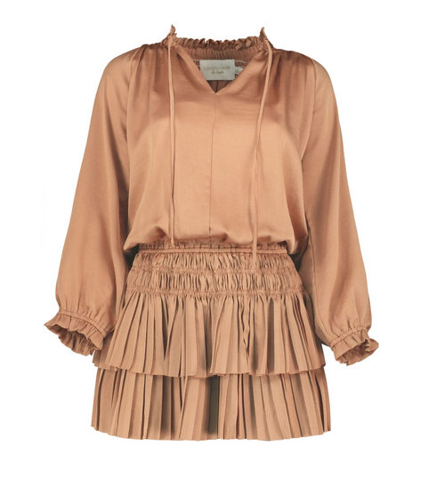 Palermo Pleat Mini Dress