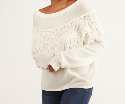 Kiki Fringe Sweater