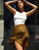 Claire Bias Ruffle Skirt