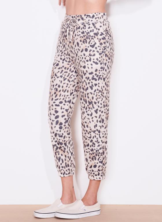 Leopard High Waist Pant