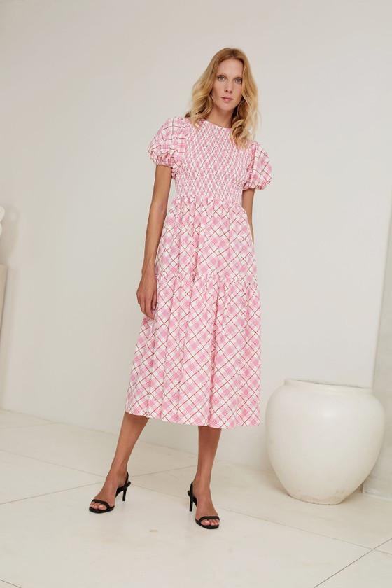 Puff Maxi Dress