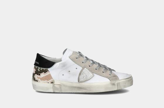 PRSL Mixage Animal Blanc Snake Sneaker