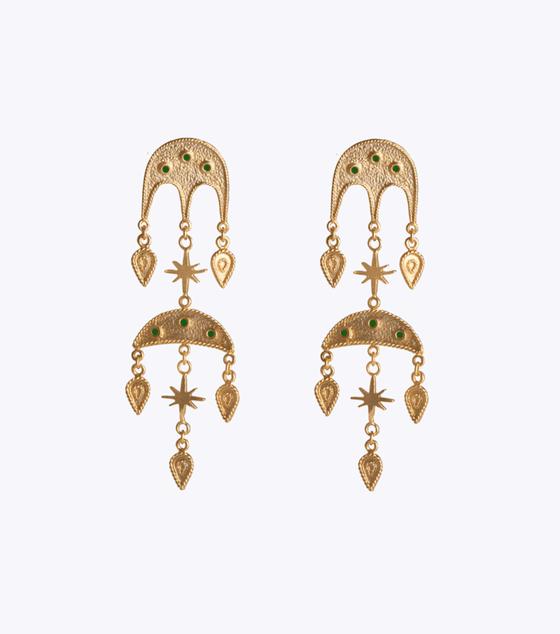 Jabel Double Earrings