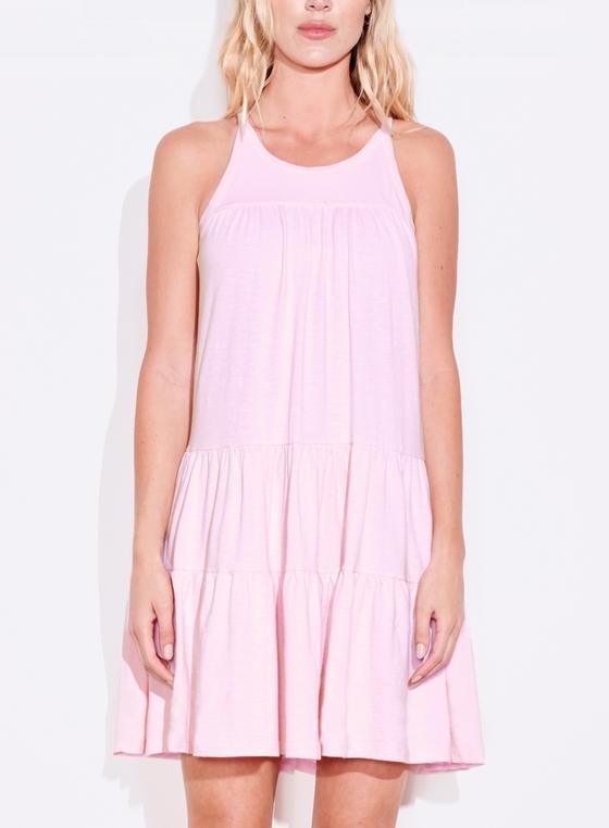 Rosebud Tiered Mini Dress