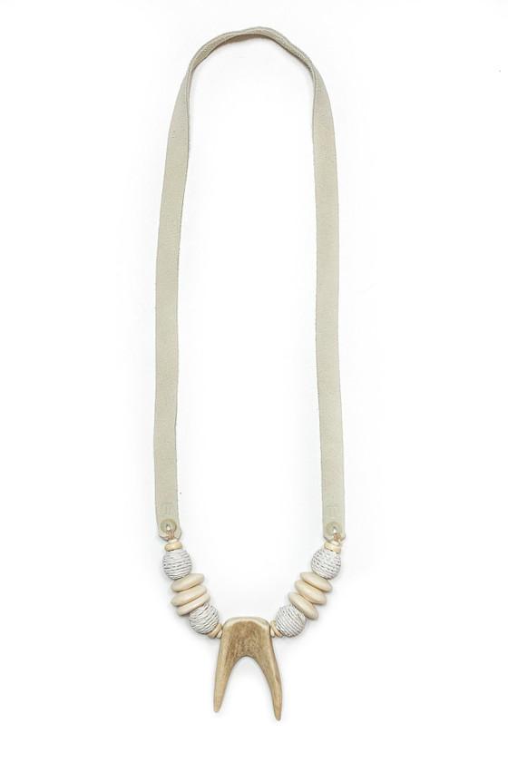 Antler Slim Tip Necklace