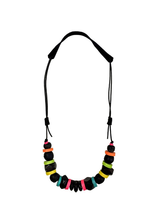 Cord Classic Necklace - Electric