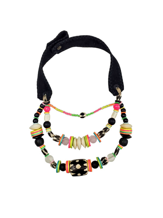 Layered Classic Necklace - Electric