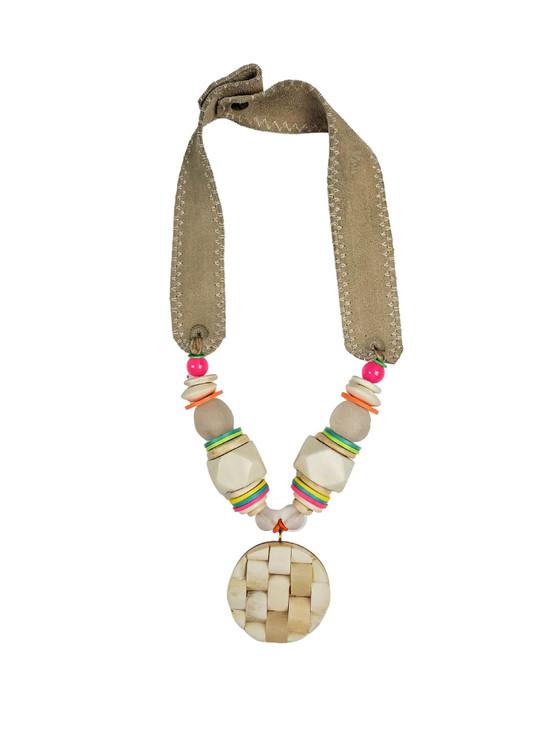 Mid Pendant Necklace - Electric