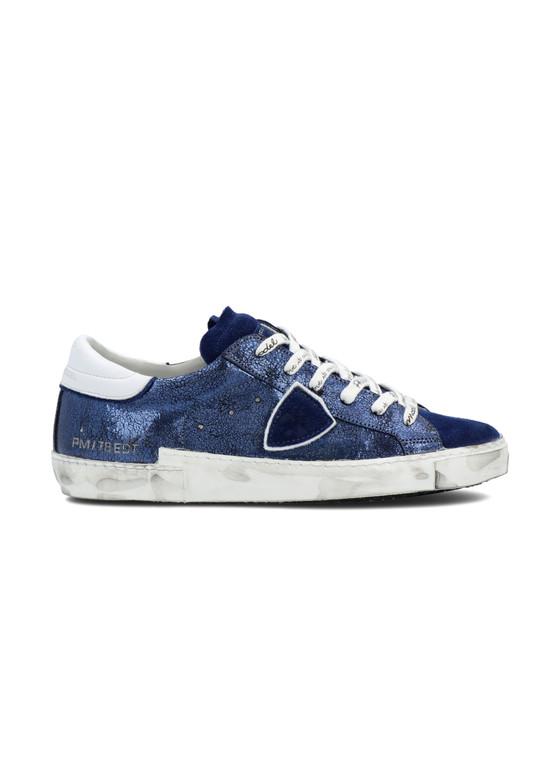 PRSX Bleu Lamine Sneaker