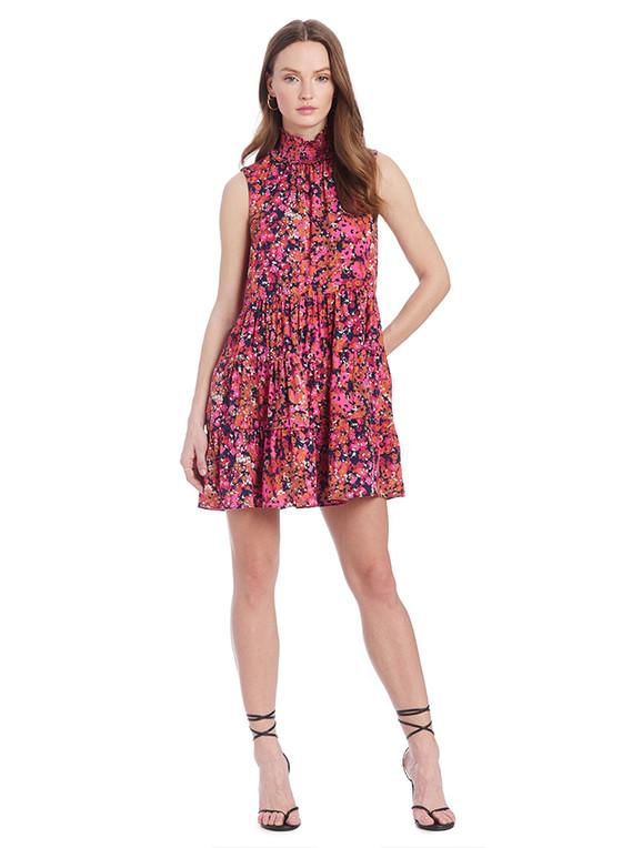 Nadia Print Dress