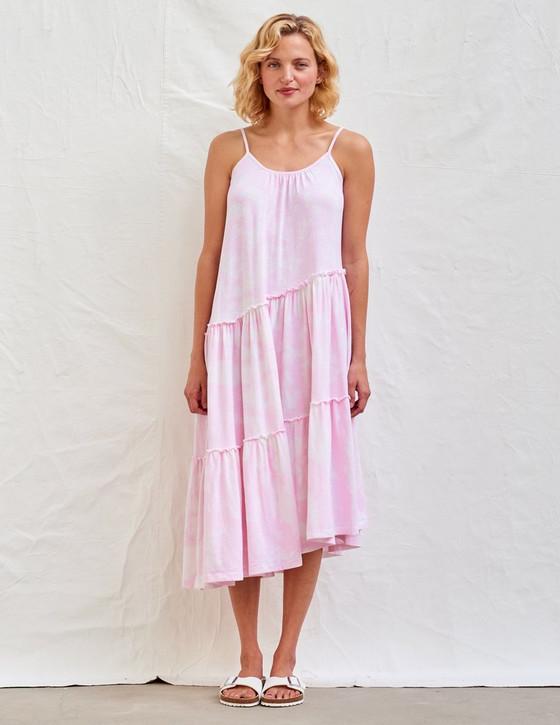Asymmetrical Tiered Dress