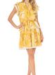 Abstract Mini Dress