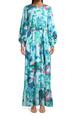 Print Blusson Maxi Dress