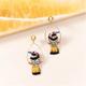Woodpecker Swing Earring