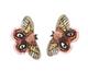 Pink Moxie Butterfly Earrings