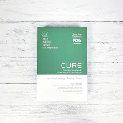 Cure Solution Aloe Sheet Mask Pack of 10