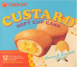 Orion Custard Cup Cake