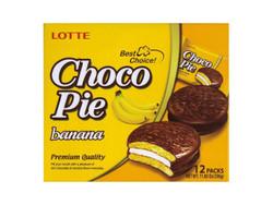 Lotte Choco Pie Banana