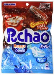 UHA Puchao Cola & Soda Soft Candy