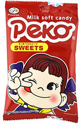 Fujiya Peko Sweets Milk Soft Candy