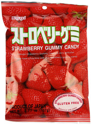 Kasugai Straweberry Gummy Candy