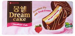 Lotte Dream Cake Strawbery Cake