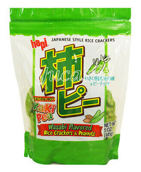 Hapi Wasabi Flavored Rice Cracker
