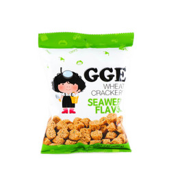 GGE Wheat Crackers Seaweed Flavor