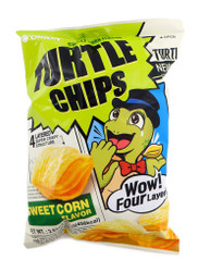 Orion Turtle Chips Sweet Corn Flavor