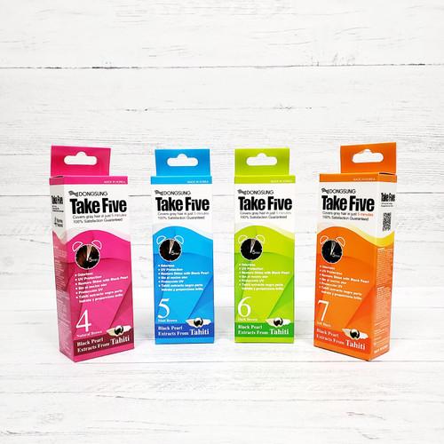Take Five Hair Color