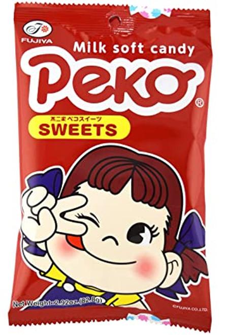 Fujiya Peko Sweets Milk Soft Candy