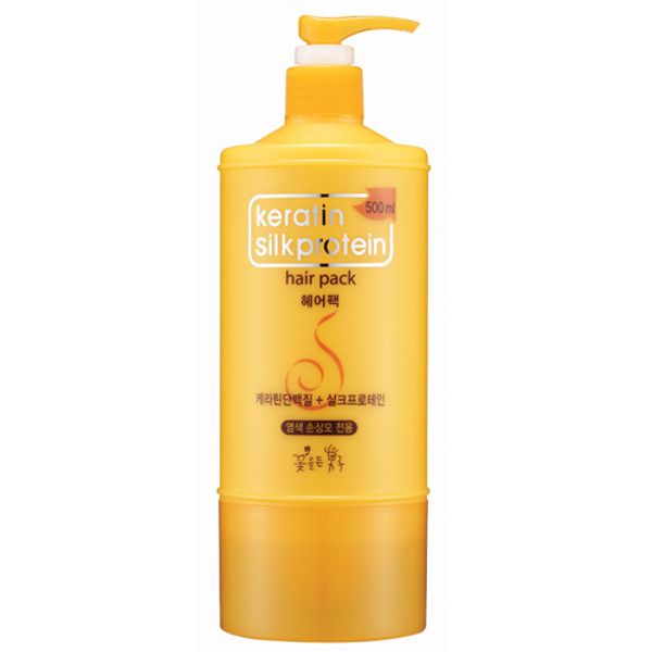 Keratin Silkprotein Hair Pack