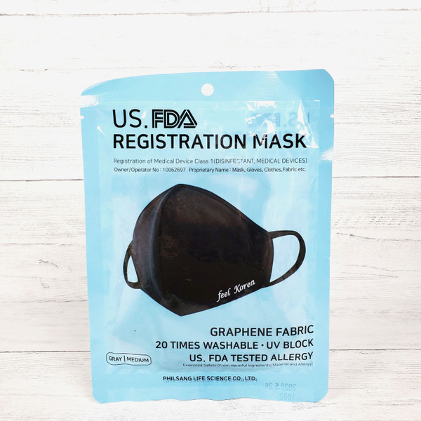 U.S. FDA Registration Mask [Gray]