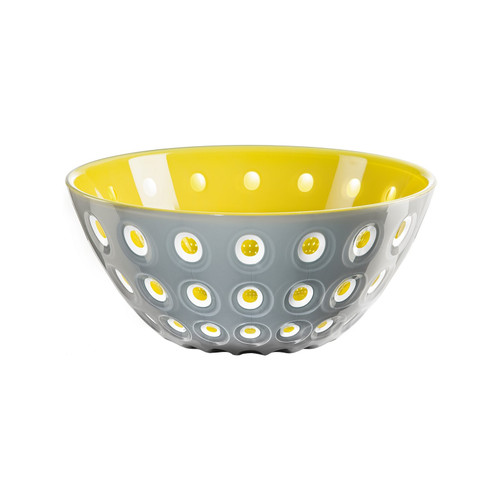 25cm Bowl - Grey/White/Yellow