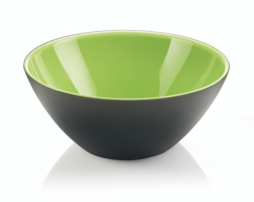 25cm Bowl - Kiwi/White/Black