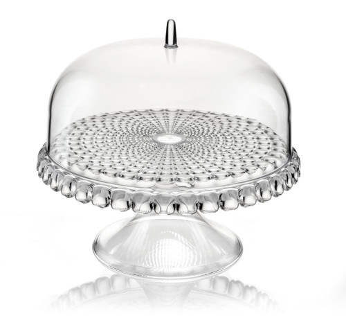 Transparent Small Cake Stand With Dome