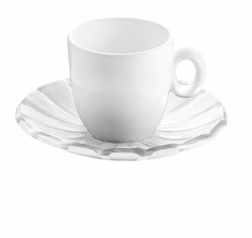 Transparent Set of 2 Espresso Cups
