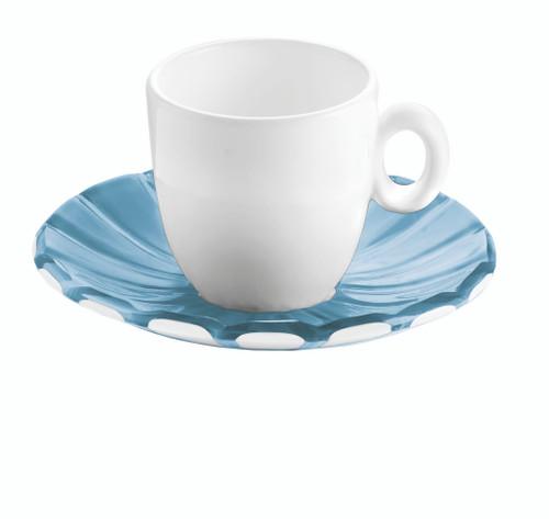 Sea Blue Set 2 Espresso Cups