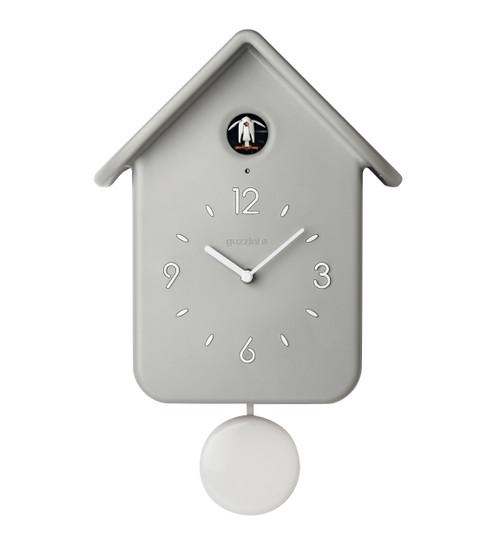 Grey QQ Cuckoo Clock with Pendulum