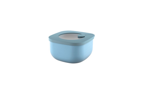 Matt Blue Store & More 450mL Shallow Airtight Container