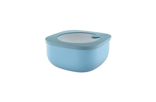 Matt Blue Store & More 975mL Shallow Airtight Container