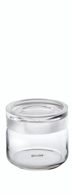 Transparent Small Storage Jar