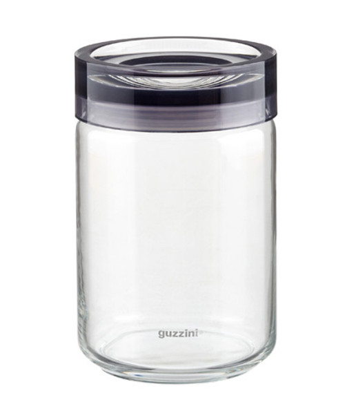 Grey Extra Large Storage Jar